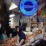 vendeur de poisson pas super aimable